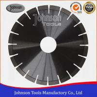 Cheap No Noise Diamond Stone Cutting Blades Various Size For Marble / Sandstone for sale