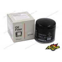 China Black Orignal Car Oil Filters / Nissan spare Parts 15208-BN30A on sale
