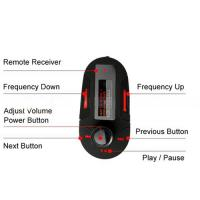 China Free Shipping Car Kit Mp3 Player Wireless Fm Transmitter Audio Aux USB SD MMC WMA LCD + Remote on sale