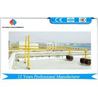 ZLP Series Painted / Aluminum Suspended Scaffolding Platform Lifting Speed 8 ~ 10 m/min