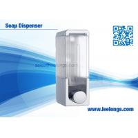 Quality 300ml Single Tank Manual Liquid Soap Dispenser Square For Hotel wholesale