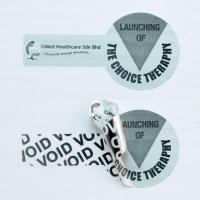 Buy cheap Customization Tamper Evident Security Labels , Tamper Resistant Labels With from wholesalers