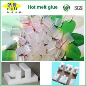 Cheap Anti Aging EVA Hot Melt Adhesive , Hot Melt Glue Pellets For EPE Foam wholesale