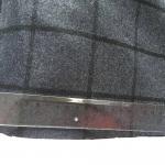 Cheap Eco - Friendly Wool Plaid Fabric / Tartan Upholstery Fabric Soft Hand Feeling for sale