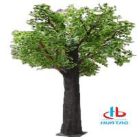 Cheap 1.5m-3m Height Artificial Green Plants Synthetic Fake Tree For Indoor And Outdoor Decoration for sale