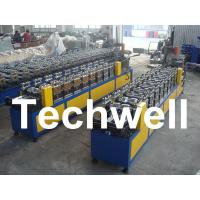 Cheap 0.4 - 1.0mm Thickness 0 - 15m/min Speed C Stud Roll Forming Machine For Light Steel Keel for sale