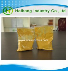 China Folic acid fine powder for API with professional manufactdurer USD 20 on sale