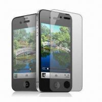 Cheap Clear mobile phone screen protector for Apple iPhone 4/4S for sale