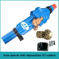 Buy cheap hole opener with replaceable TCI cutters from wholesalers