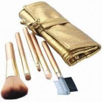 Cheap Makeup Brush Set with Aluminum Ferrules for sale