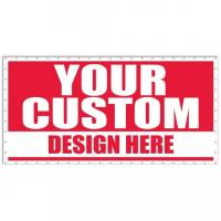 Cheap digital custom logo wide format window advertising Banner Printing of full color for sale