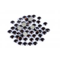 Cheap Custom Color Rimmed Rhinestones Flatback Good Stickness High Color Accuracy for sale