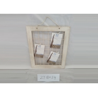 China White Eco Friendly Wooden Rope Album Picture Frames on sale