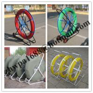 Cheap Material Fiberglass duct rodder,Length 50m 100m 200m duct rodder for sale