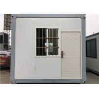 China Modular Prefabricated Container House / 50mm EPS Sandwich Panel Homes on sale