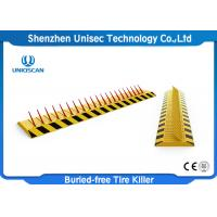 Buy cheap Portable Tyre Spike Barrier Access Control / Parking Lot Spikes A3 Steel from wholesalers