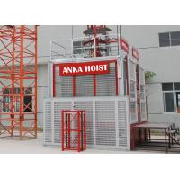 Cheap Double Cage 1.5 Ton Construction Hoist Elevator SC150 / 150GD 3 Phase Power Source for sale