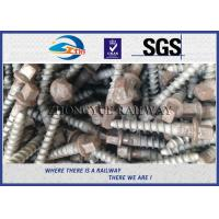 Quality Stainless Steel Rail Screw Spike 5.6 Grade For Railway Fasteners wholesale