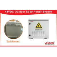 Buy cheap Wall Mounted Telecom Solar Power Systems With Reverse Polarity Protection from wholesalers