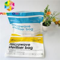 China Baby Food Stand Up Zipper Pouch Bags Stand Up Microwave Steam Steriliser Type on sale