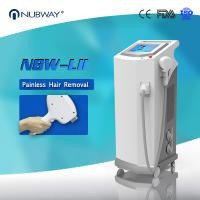 Buy cheap 2016 Most effective 808 nm diode laser hair removal free pain machine from wholesalers