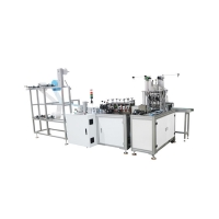 Cheap Full Automatic ultrasonic Medical Tie On Mask Making Machine for sale