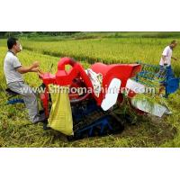 4LZ-0.8 without tail pulley mini muddy field applicable wheat combine harvester SKYPE:sherrywang33