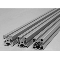 China Anodizing Champagne 6061 Aluminum Assembly Line Extrusions on sale