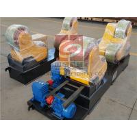 Cheap Self Aligning Rotators / Welding Turning Rolls 20 Ton , PU Rollers , France Schneider Inverter for sale