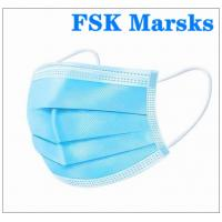 Cheap Comfortable Hospital Mouth Mask Disposable Non Woven Face Mask Anti Pollution for sale