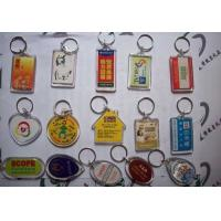 Cheap wholesale custom plastic keychain manufacturer China for sale