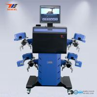 Cheap Car 3D Wheel Aligner Automatic Machine High Precision With Adjustable Camera Beam for sale