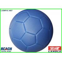 Buy cheap Pebble Surface Leather Soccer Ball Made By Basketball PVC Leather from Wholesalers