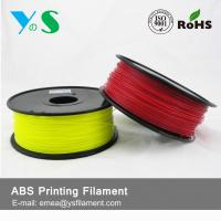 Cheap Durable Red 3D Printer Filaments 3.0mm Plastic High Toughness For Ultibot for sale