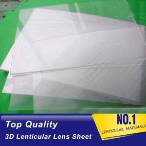 China cheap flip 60 lpi lenticular lenses sheets suppliers pet 3d Lenticular Sheet for an inkjet printer Djibouti on sale
