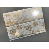 Cheap Hot Stamping Decorative PVC Panels With Persistent Material Long Using Life for sale