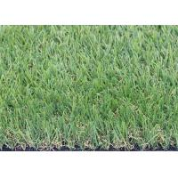 Cheap Super Softer Flat Yarn Shape Artificial Turf Landscaping For Garden Healthy Eco - Friendly for sale