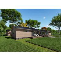 China Elegant Prefabricated Wooden Homes , Fireproof Modular Wooden House on sale