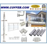 Balcony Free Standing Rope Glass Stair Swimming Pool Stainless Steel Handrail Of