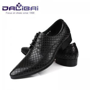 Cheap Lace-up genuine leather black shoes fashion classic men oxford style wholesale