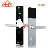 Cheap Contactless RFID Card Door Lock 390*75*32mm 6-12 Months Power Lifetime for sale