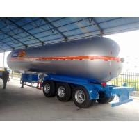 China CLW brand best price 56CBM 3 axles Butane gas LPG tanker semitrailer for sale, 56,000L lpg gas trailer for Butane on sale