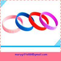 Cheap cheap debossed silicone bands for sale