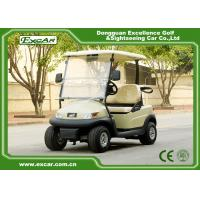 Buy cheap 2 Seater 48v Trojan Battery Electric Golf Cart / Mini Golf Buggy from wholesalers