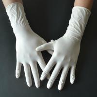 Cheap Powder Free Disposable Medical Gloves , Medical Rubber Gloves Fingertip Textured for sale