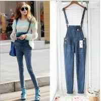 Casual Womens Fashion Overalls , Spring Fashion Ladies Jeans Sexy