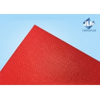 China Waterproof Woven Reinforced 500gsm PVC Coated Tarp on sale