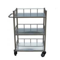 Cheap Clinical equipment hand cart, medical drug moving stainless steel utility trolley RCS-L039 for sale