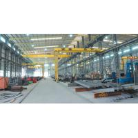 Buy cheap S355 Workshop Steel Structure With Grey Color Paint,Area Size 8000 square meter from wholesalers