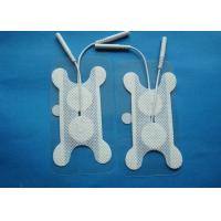 Cheap 32*82MM Bone Throat Swallowing Electrode Pads, White Bone 82*32mm CE Tens Unit Pads for sale